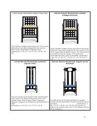 Armchair Measurements Furniture Design By Charles Rennie Mackintosh