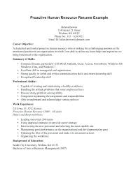 resume objectives exles generalizations in reading human resource entry level resume