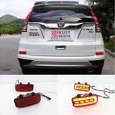 2016 honda crv fog lights for honda crv 2015 2016 red led reflector rear bumper tail light