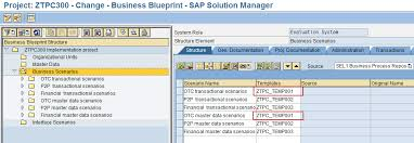 sap solution manager solman template projects dataxstream