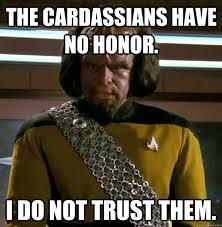 Worf Memes - non trusting worf memes quickmeme