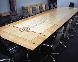Timber Boardroom Table Advisory To The Technical Committee Of Timber Veneer