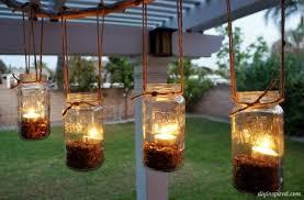 Outdoor Chandelier Diy Diy Outdoor Jar Chandelier Diy Inspired To Comfortable