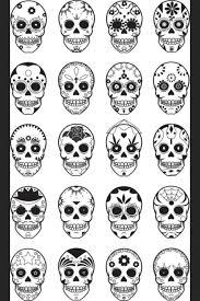 sugar skull designs uploaded by japaniecie on we it