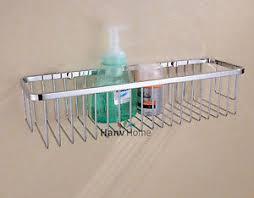 stainless steel bathroom accessories shower caddy wire basket