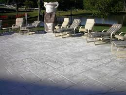 Stamped Concrete Patio Diy Excellent Stamped Concrete Patios U2014 All Home Design Ideas