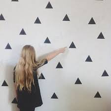 popular wall art triangles buy cheap wall art triangles lots from free shipping 45 triangles sticker modern wall art decor home decoration high quality vinyl gold