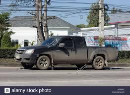 mazda pickup chiang mai thailand january 16 2017 private mazda pickup truck
