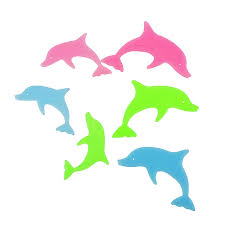 dolphin home decor diy colorful dolphin kids wall sticker for kids rooms glow in the