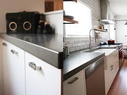 light colored concrete countertops grey color kitchen concrete countertops brown color wooden kitchen