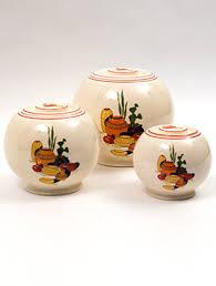 vintage fiesta kitchen kraft pottery for sale rare hard to find