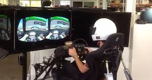 Racing Simulator Chair Oculus Rift With Chair Racing Simulator Now That Is Epic Rift Info
