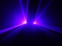 Lazer Light Dual 100mw Blue Violet Dj Dmx Laser Stage Lighting