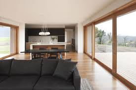 open kitchen to dining room living room open plan kitchen dining living room modern decor