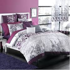 gray and purple duvet covers pink and gray and purple comforter bed bath beyond enchanted duvet