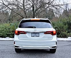 acura minivan 2017 acura mdx elite 6 passenger road test review carcostcanada