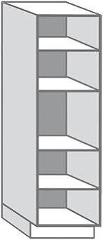 caisson colonne cuisine colonne blanc l 60 x h 215 4 x p 56 cm brico dépôt