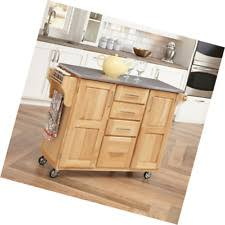 Kitchen Island Cart With Stainless Steel Top Stainless Steel Kitchen Islands U0026 Kitchen Carts Ebay