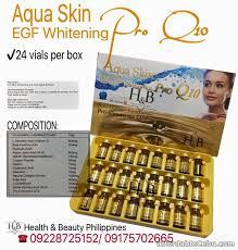 aqua skin egf gold cheapest aqua skin egf whitening pro q10 in cebu city for sale