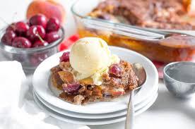 cherry peach cobbler recipe flapjacked flapjacked