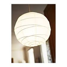 Paper Pendant Lamps Ikea Regolit Pendant Lamp Shade Only White Rice Paper Rice Paper