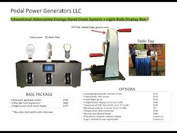 Led Light Bulb Reviews by 3 Bulb Interactive Bulb Comparison Display Pedal Power Generators