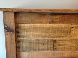 King Size Wooden Headboard Cool King Size Wooden Headboard Diy King Sized Pallet Wood