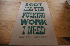 letterpress wood type poster dogs