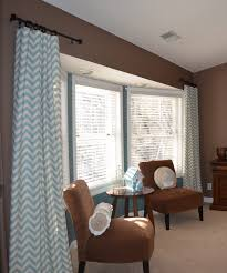 Pink And White Chevron Curtains Decor Traditional Family Room Design With Chevron Curtains And