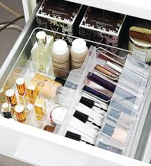 Bathroom Makeup Organizers How To Organize Drawers For Every Room Of The House Makeup