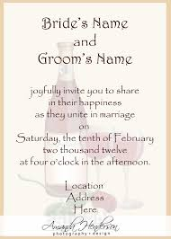 wording for wedding invitations wedding invitation wording sles 21st bridal world wedding
