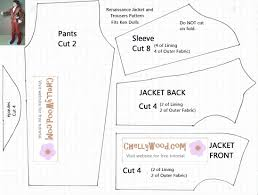 free printable barbie doll clothes patterns chelly wood