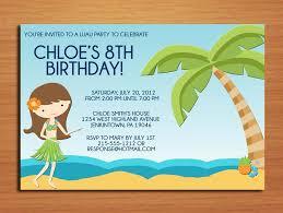 luau birthday party invitation wording u2013 bagvania free printable