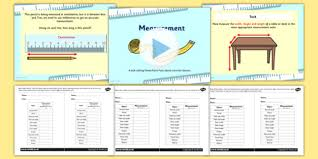 measurements appropriate measures powerpoint with activity