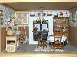 miniature dollhouse kitchen furniture a grand and beautiful antique dollhouse no source i the