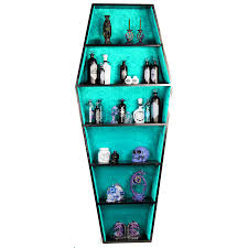 coffin bookshelf coffin bookcase 359 99 angel clothing and steunk