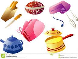 clipart cuisine gratuit vaisselle de cuisine cliparts illustration de vecteur