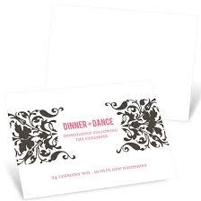 reception cards wedding reception cards custom designs from pear tree