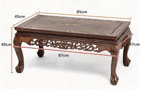 Center Table For Living Room Solid Wood Coffee Table Decoration Rectangle 85cm Living Room