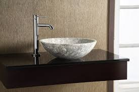 bathroom vessel sinks stone elite oval matt iron ore glaze
