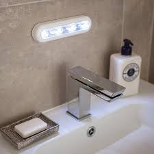 battery operated led lights for cupboards led lights behind bathroom mirror 2744 in bathroom light battery
