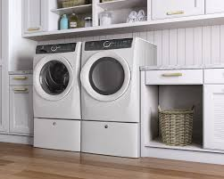 Cheap Washer Pedestal Electrolux Efls517siw 27 Inch 4 3 Cu Ft Front Load Washer With