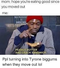 Crack Addict Meme - 25 best memes about tyrone biggums tyrone biggums memes