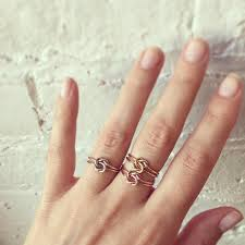 what is a knot ring lover s knot ring erica weiner
