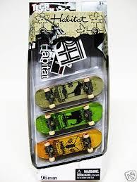 Tech Deck Blind Skateboards Tech Deck 3 Pack Finger Board 96mm Skateboard Habitat