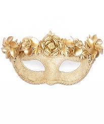 masquerade mask gold masquerade mask decorated with oversized metallic flowers