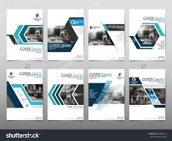technical brochure template blue set technology annual report brochure flyer design template