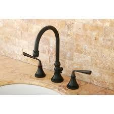 Kingston Brass Bathroom Faucet by Kingston Brass Ks2985zl Silver Sage Oil Rubbed Bronze Two Handle