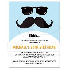 30th Birthday Invitation Cards Surprise Birthday Invitations Surprise Birthday Invitations For