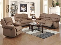 Beige Reclining Sofa Fancy Reclining Sofa Sets 1 Ingaret 2 Living Room Set